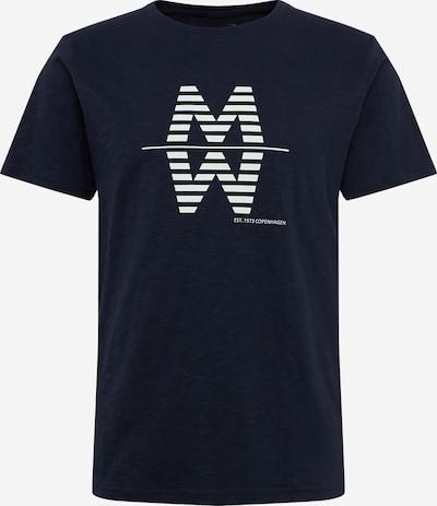 Matinique Tričko 'MAslubon Slub Jersey' - námořnická modř / bílá, Produkt
