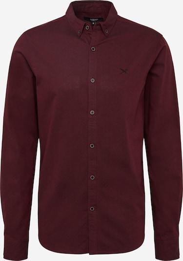 Iriedaily Hemd 'Samuel' in bordeaux, Produktansicht