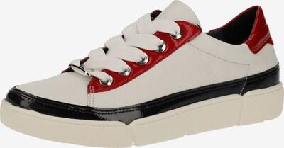 ARA Sneaker in hellrot / schwarz / weiß, Produktansicht