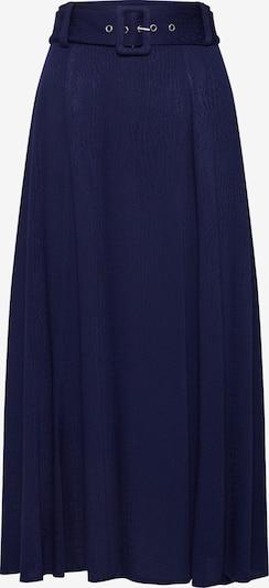 Fustă 'Winona' EDITED pe albastru: Privire frontală