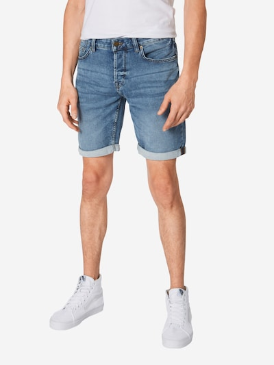 Only & Sons Shorts in blue denim, Modelansicht