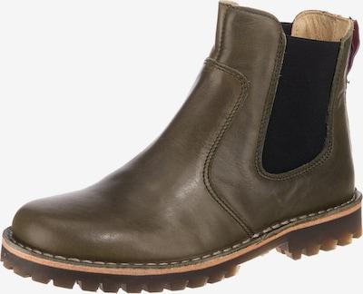 Grünbein Chelsea Boots 'Irma TR' in khaki, Produktansicht