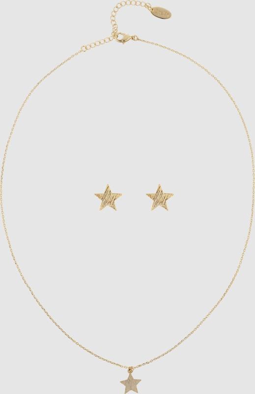 Orelia Schmuck-Set 'Brushed Star Giftbox'