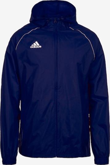 ADIDAS PERFORMANCE Sportjas 'Core 18' in de kleur Blauw / Wit, Productweergave
