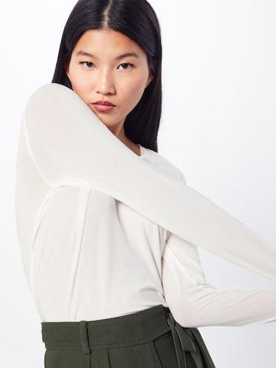 VERO MODA T-Krekls 'VMAVA L/S TOP GA NOOS' pieejami balts: Priekšējais skats