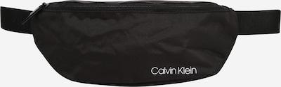 Calvin Klein Torbica za okrog pasu | črna / bela barva, Prikaz izdelka