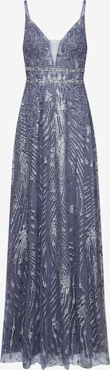 Rochie de seară LUXUAR pe albastru / gri, Vizualizare produs