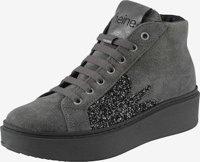 heine Sneaker in grau: Frontalansicht