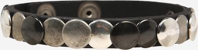 DIESEL Náramek 'A-MINT' - zlatá / černá / stříbrná, Produkt