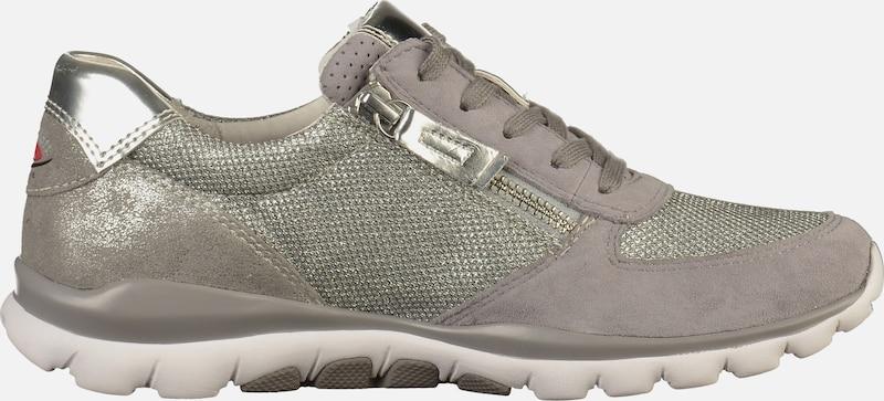 Laag Zilver Gabor TaupeRookgrijs Sneakers In SzUVqMp