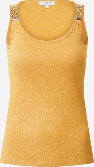 Morgan Top in de kleur Geel: Vooraanzicht