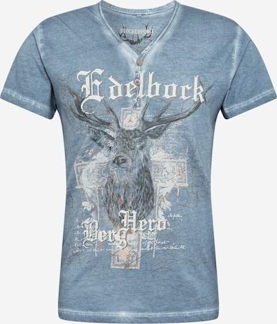 Raštuoti marškinėliai 'Berghero' iš STOCKERPOINT , spalva - melsvai pilka, Prekių apžvalga