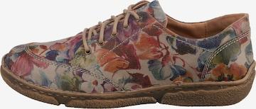 JOSEF SEIBEL Lace-Up Shoes 'Neele 02' in Beige