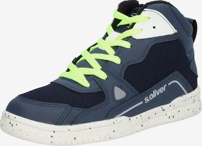 s.Oliver Junior Sneaker in navy, Produktansicht