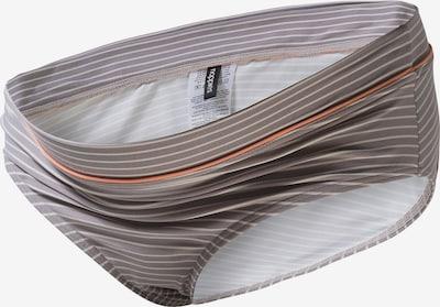 Noppies Umstandsbadehose in greige / orange / weiß, Produktansicht