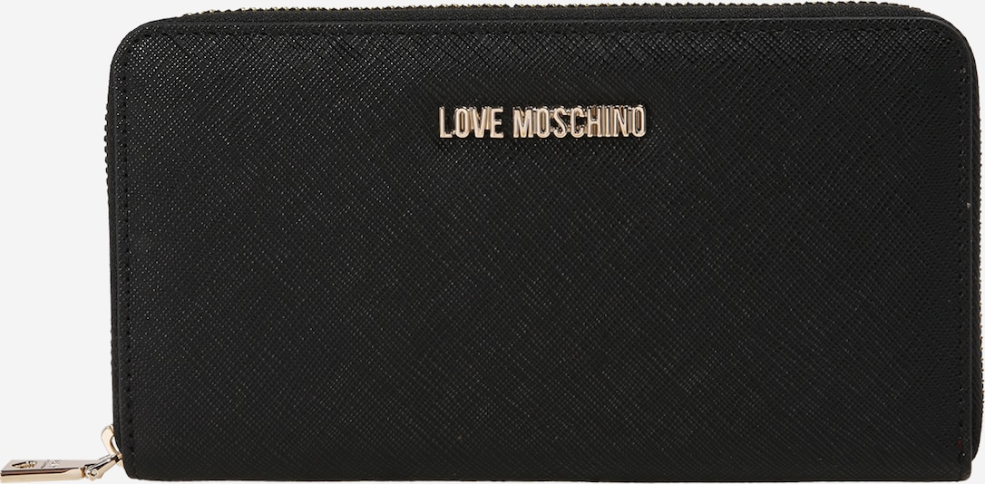 Love Moschino Peňaženka 'ECONOMIC SMALL LEATHER' - čierna, Produkt