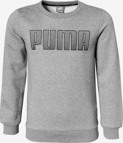 PUMA Pullover in grau / schwarz, Produktansicht