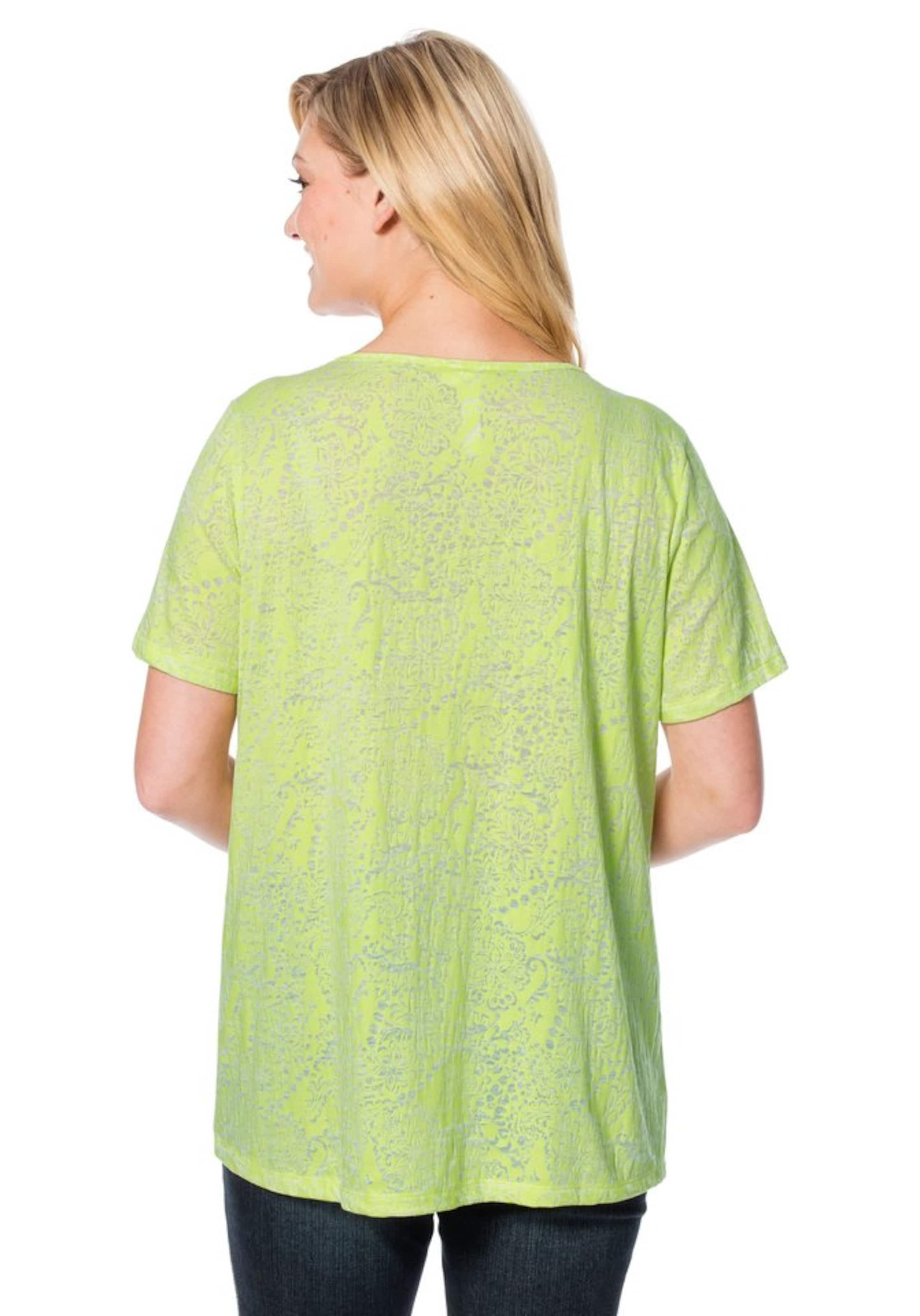 T Sheego shirt Limette T In shirt Sheego Limette In Sheego sdrtQh