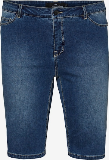 Junarose Jeans Shorts in blue denim, Produktansicht