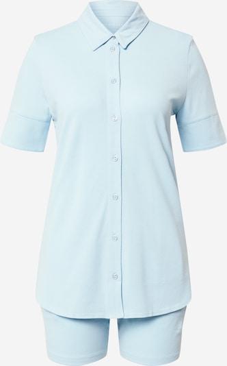 SCHIESSER Korte pyjama in de kleur Lichtblauw, Productweergave