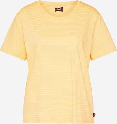 Forvert T-shirt 'Johanna' en jaune / blanc, Vue avec produit