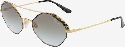 VOGUE Eyewear Lunettes de soleil en or / noir, Vue avec produit