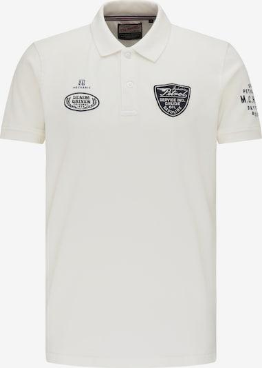 Petrol Industries Poloshirt in nachtblau / weiß, Produktansicht