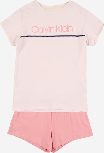 Calvin Klein Underwear Pyjama in creme / rosa, Produktansicht