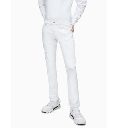 Calvin Klein Jeans Jeans in weiß, Modelansicht
