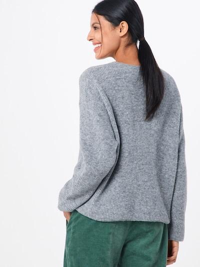 DRYKORN Sweter 'TIMIRA' w kolorze nakrapiany szarym: Widok od tyłu