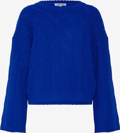 Pulover 'Philippa Jumper' ABOUT YOU pe albastru: Privire frontală