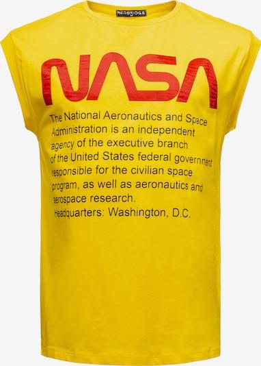Redbridge Tanktop 'Washington NASA' in gelb, Produktansicht