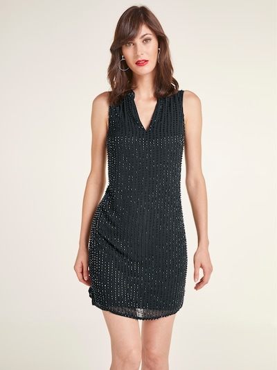 heine Klasiska tipa kleita melns, Modeļa skats