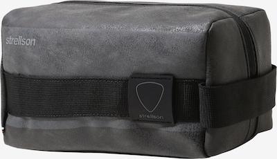 STRELLSON Kulturtasche  'finchley washbag shz' in grau / schwarz, Produktansicht