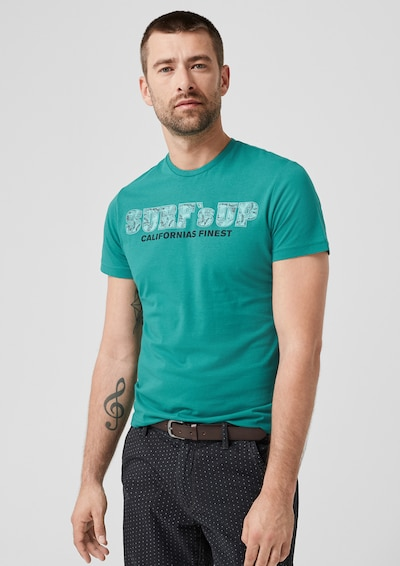 s.Oliver Shirt in himmelblau: Frontalansicht