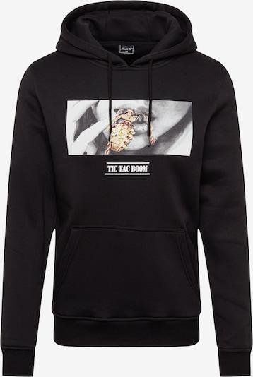 Mister Tee Sweat-shirt 'Boom' en noir, Vue avec produit