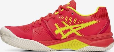 ASICS Sportschuh 'Gel-Challanger 12 CLAY 404 B' in gelb / orangerot, Produktansicht