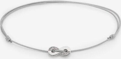 BRUNO BANANI Armband in grau / silber / weiß, Produktansicht