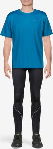 ENDURANCE Funktionsshirt Vernon mit reflektierendem Print in Blau