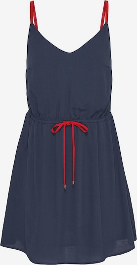 Tommy Jeans Zomerjurk in de kleur Navy / Rood, Productweergave