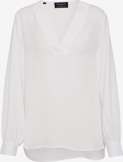 SELECTED FEMME Bluse in offwhite, Produktansicht