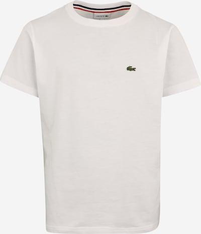 LACOSTE Shirt in weiß: Frontalansicht
