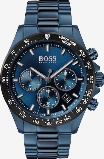 BOSS Casual Uhr in himmelblau / schwarz, Produktansicht