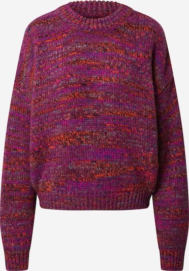 Samsoe Samsoe Trui 'Renu' in de kleur Magenta, Productweergave