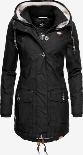 Ragwear Winterjacke 'Jane Black Label' in schwarz, Produktansicht