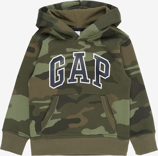 GAP Sweatshirt in oliv: Frontalansicht