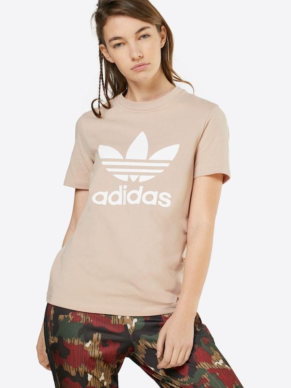 ADIDAS ORIGINALS T-Shirt mit Label-Print
