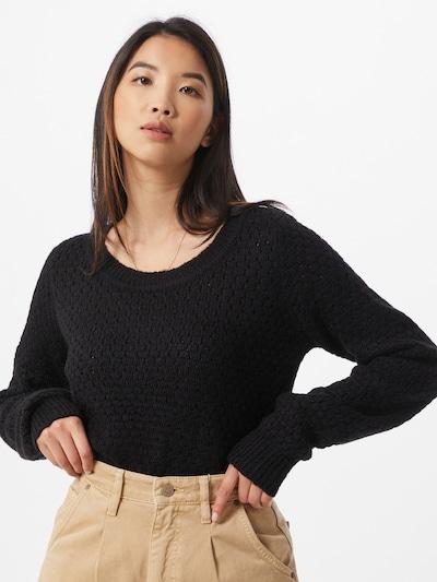 ICHI Pullover 'Olanda' in schwarz, Modelansicht