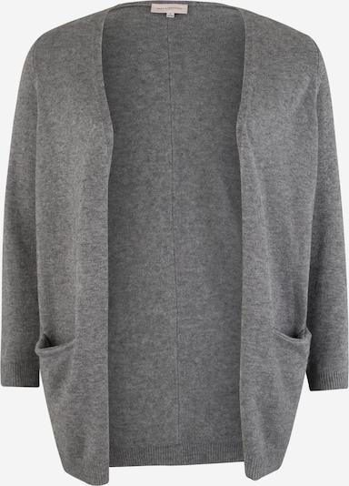 ONLY Carmakoma Gebreid vest 'Carstone' in de kleur Grijs gemêleerd, Productweergave