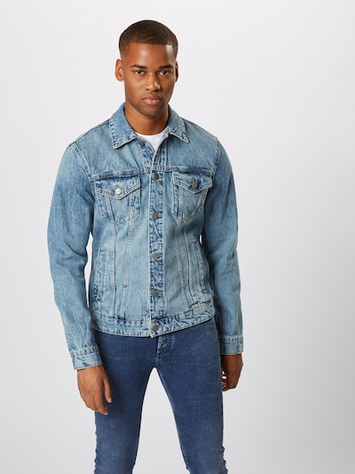 Only & Sons Veste mi-saison en bleu denim: Vue de face